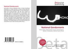 Portada del libro de National Gendarmerie