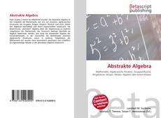 Abstrakte Algebra kitap kapağı