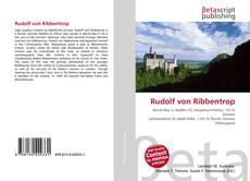 Обложка Rudolf von Ribbentrop