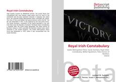 Couverture de Royal Irish Constabulary