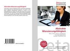 Abstrakte Bilanzierungsfähigkeit kitap kapağı