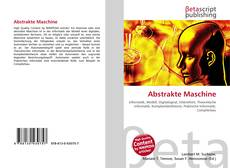 Abstrakte Maschine kitap kapağı