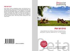 Bookcover of PM M1910