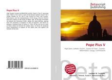 Capa do livro de Pope Pius V