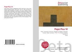 Buchcover von Pope Pius VI