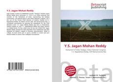 Bookcover of Y.S. Jagan Mohan Reddy