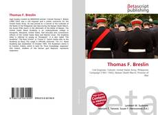 Bookcover of Thomas F. Breslin