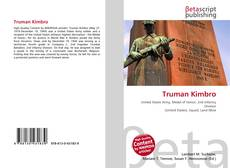 Bookcover of Truman Kimbro