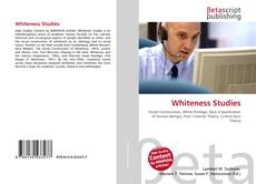 Bookcover of Whiteness Studies
