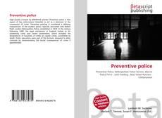 Bookcover of Preventive police