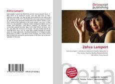 Zohra Lampert kitap kapağı