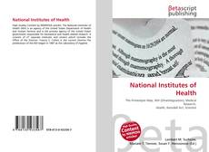Bookcover of National Institutes of Health