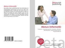 Capa do livro de Absturz (Informatik)