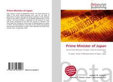 Portada del libro de Prime Minister of Japan