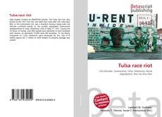 Capa do livro de Tulsa race riot
