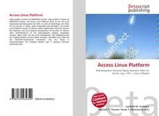 Couverture de Access Linux Platform