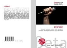 Bookcover of Zohrabai