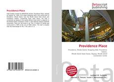 Bookcover of Providence Place