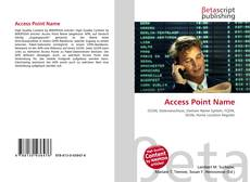Bookcover of Access Point Name
