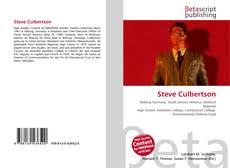Bookcover of Steve Culbertson