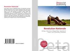 Portada del libro de Revolution Nationale