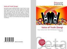 Couverture de Voice of Truth (Song)