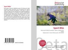 Sport Bike kitap kapağı