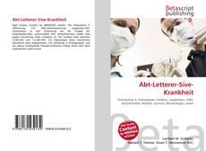 Buchcover von Abt-Letterer-Sive-Krankheit