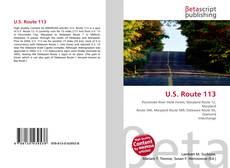 Bookcover of U.S. Route 113