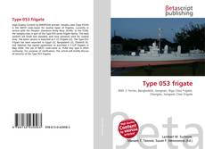 Bookcover of Type 053 frigate