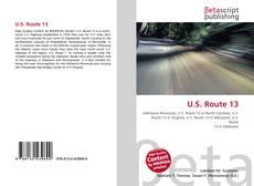 Copertina di U.S. Route 13