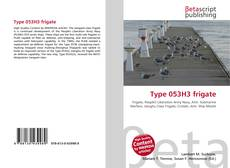 Bookcover of Type 053H3 frigate