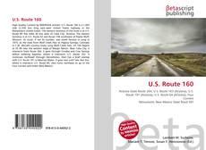 Bookcover of U.S. Route 160