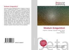Bookcover of Stratum (Linguistics)