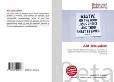 Bookcover of Abt Jerusalem