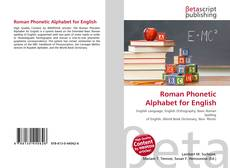 Bookcover of Roman Phonetic Alphabet for English