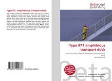 Borítókép a  Type 071 amphibious transport dock - hoz