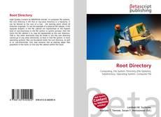 Root Directory kitap kapağı