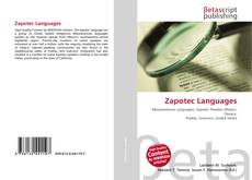 Bookcover of Zapotec Languages
