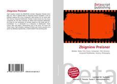Couverture de Zbigniew Preisner
