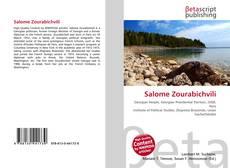 Salome Zourabichvili kitap kapağı
