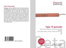 Bookcover of Type 10 grenade