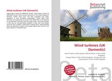 Bookcover of Wind turbines (UK Domestic)