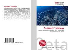 Buchcover von Subspace Topology
