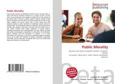 Bookcover of Public Morality