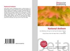 Bookcover of National Anthem