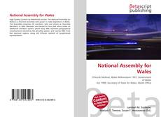 Couverture de National Assembly for Wales