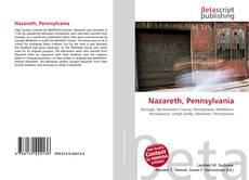 Capa do livro de Nazareth, Pennsylvania