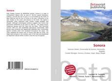 Bookcover of Sonora