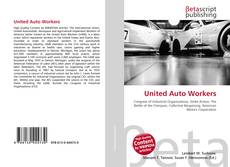 Buchcover von United Auto Workers